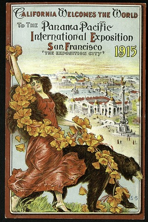 Postcard from the Panama-Pacific Exposition