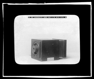 The First Daguerreotype Camera Made in the United States, 1839