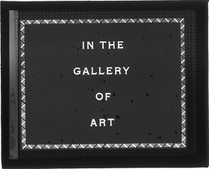 In the Gallery of Art, 1933, Smithsonian Institution Archives, SIA Acc. 12-492 [SIA2012-6589].