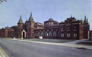Postcard of the Arts and Industries Building
