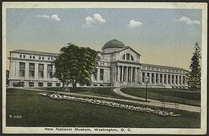 Postcard of the New National Museum #R2338