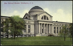 Postcard of the New National Museum #11607