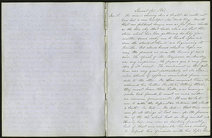 Mary Henry Diary Entries, January-February 1861, on the Congressional Debates