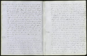Mary Henry Diary Entry on Watching Troop Movements, July 16, 1861