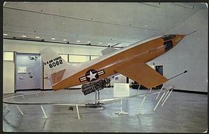 "Blank Postcard of Bell X-1 Plane ""Glamorous Glennis"""