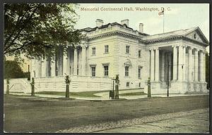 Postcard of Memorial Continental Hall, DAR