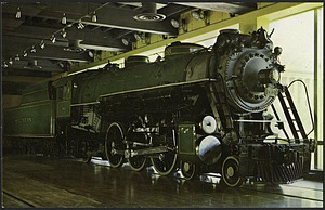 Postcard of a Pacific-Type Passenger Steam Locomotive