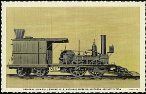 Postcard of the Original John Bull Engine