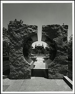Moongate, Entryway to Sackler Garden