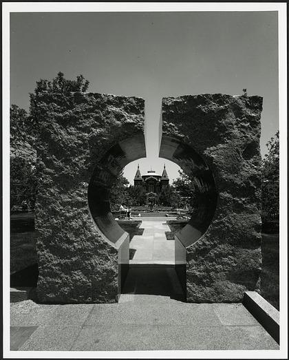 Moongate, Entryway to Sackler Garden
