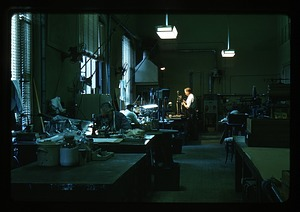 Nick Hotton in Laboratory