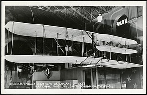 Postcard of 1903 Wright Flyer