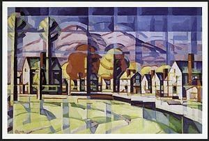 "Postcard of ""Morning Light"""