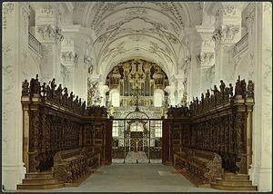 Postcard of Organ at Klosterkirche St. Urban