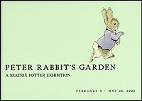 Postcard of Peter Rabbit
