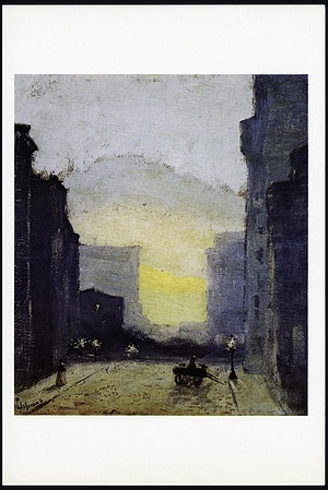 "Postcard of ""East Side, New York"""