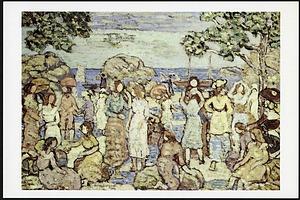 "Postcard of ""Beach at Gloucester"""