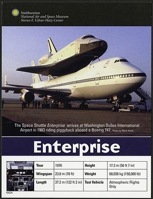 Postcard of Enterprise Shuttle