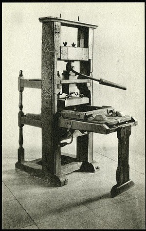 Postcard of the Franklin Press