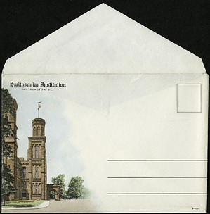 Postcard Envelope with Image of Castle