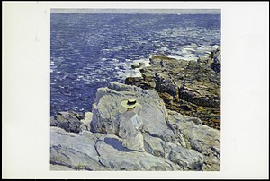 "Postcard of ""Sunny Blue Sea"""