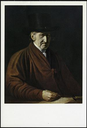 Postcard of Self Portrait by Benjamin West