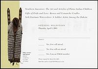 RSVP Postcard for Exhibits