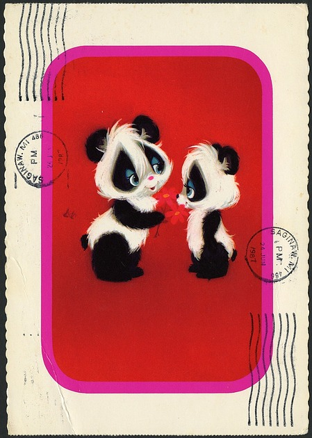 Panda Postcard to Ling-Ling
