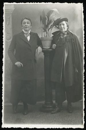 Romaine Brooks and Natalie Barney