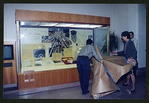 """Unveiling of """"Feather Focus"""" Exhibit Case"""