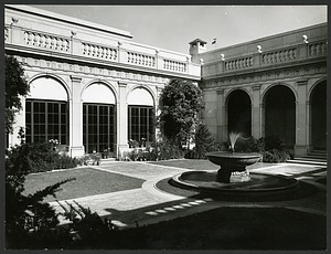 Freer Gallery of Art - Northeast Corner of Courtyard