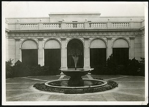 The Freer Gallery of Art Courtyard, Looking South