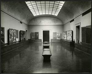 Gallery V in the Freer Gallery of Art