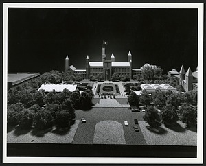 Model of the South Mall Area, Smithsonian Institution Archives, SIA Acc. 02-082 [SIA2015-000820].
