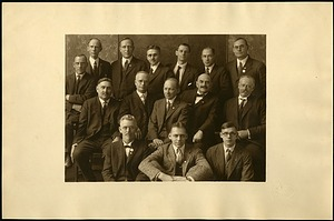 Group Photograph of Dipterists taken in Boston