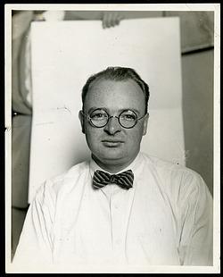 Portrait of Watson Davis (1896-1967)