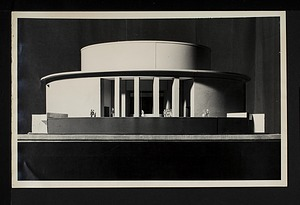Exterior View of Concept Model for New National Air Museum