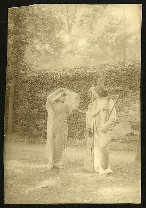 Eua Palmer-Sikelianou and Penelope Duncan, Bois de Bolognes Paris