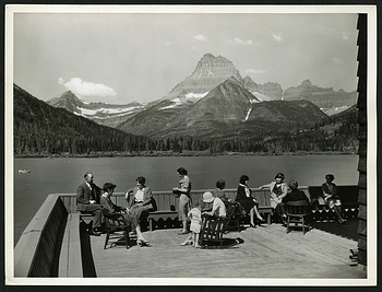 Glaciers - Glacier National Park, Smithsonian Institution Archives, SIA RU007177 [SIA2019-000506].