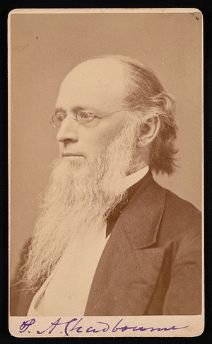 Portrait of Paul Ansel Chadbourne (1823-1883)