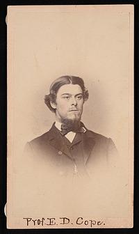Portrait of Edward Drinker Cope (1840-1897)