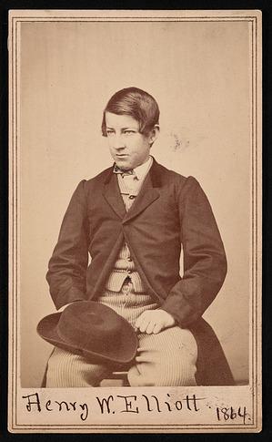 Portrait of Henry Wood Elliott (1846-1930)