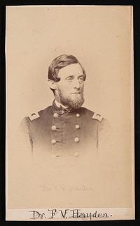 Portrait of Ferdinand Vandeveer Hayden (1829-1887)