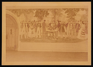 Joseph Henry Mural Panel at Princeton University, by Gifford Beal