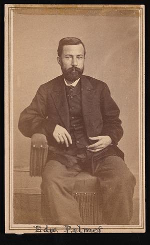Portrait of Edward Palmer (1829-1911)