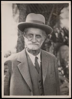 Portrait of Frank Stephens (1849-1937)
