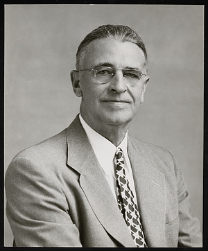 Portrait of Webster Prentiss True (1892-1976)