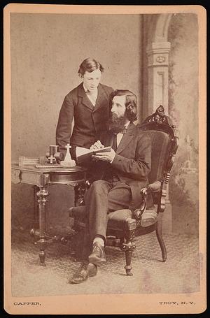 Portrait of Samuel Edward Warren (1831-1909) with Student