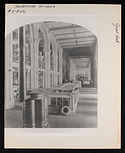 Lower Main Hall Exhibits, Smithsonian Institution Building, or Castle