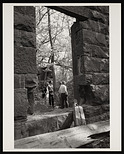 Seneca Quarry, Removal of Stone for South Gate of Smithsonian Institution Building, or Castle